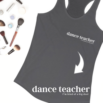Dance teacher gift Dance teacher tank top Ballet teacher gift Dance Market