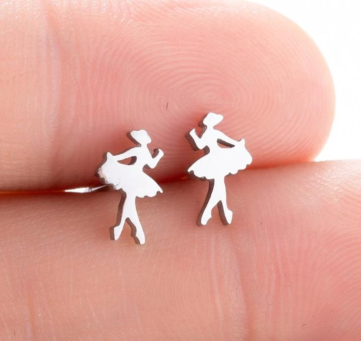 Ballet earrings  dance earrings ballerina earrings dance besties dance gift Dance Market