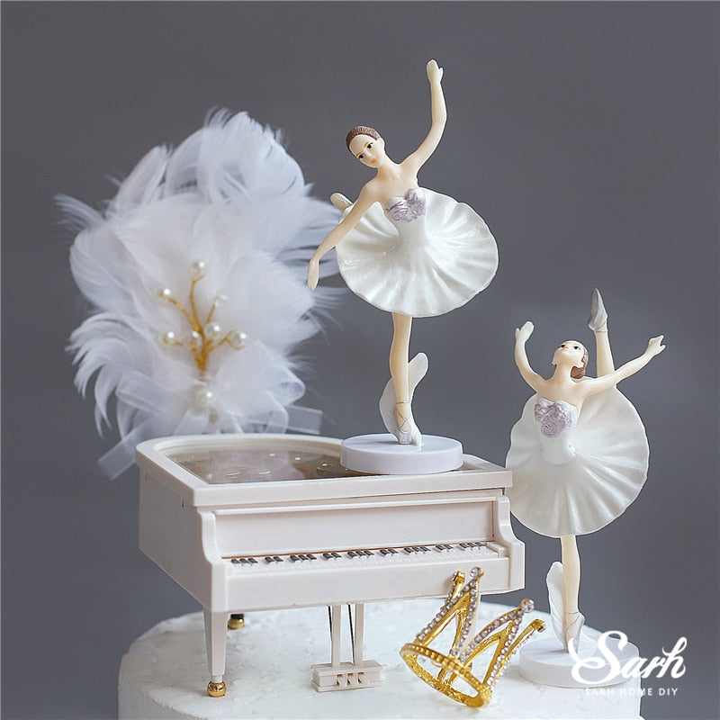 Ballet Theme Cake Toppers