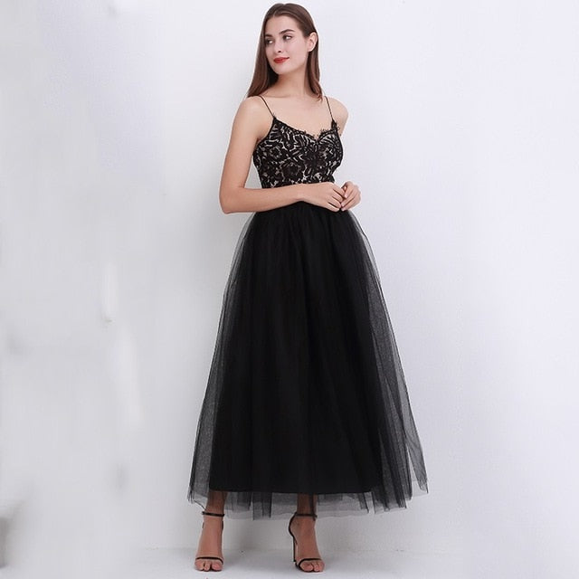 Tulle Skirt /tutu skirt - floor length