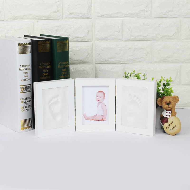 Baby Hand & Foot Mold with Picture Frame