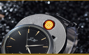 LightMeUp - Official Lighter Watch - 2019 Luxury Smokers Watch