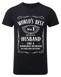 """World's Best Husband"" T-Shirt"