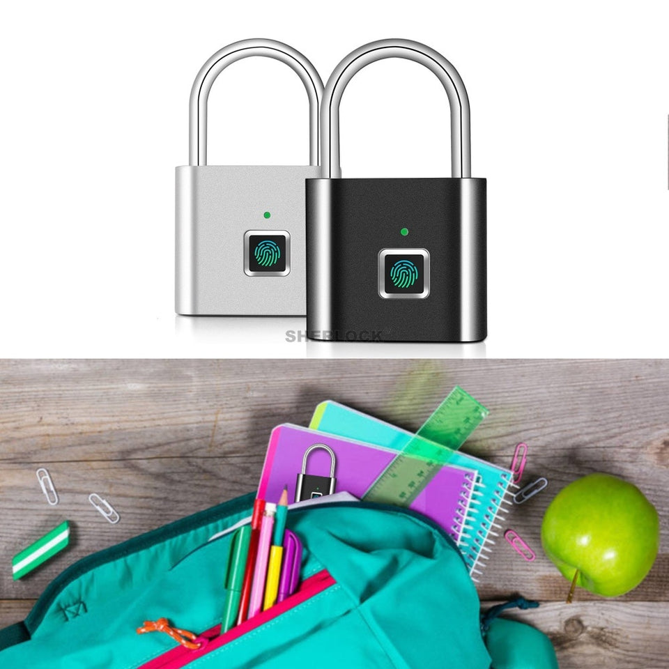 Fingerprint Padlock Smart Security Latch
