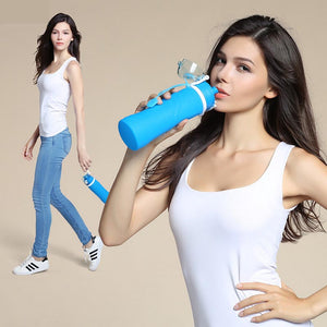 Collapsible Water Bottle - Foldable Water Bottle