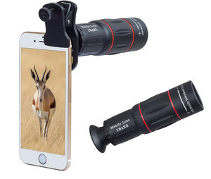 18X ZOOM TELESCOPE MOBILE CAMERA LENS FOR IPHONE OR ANDROID PHONES
