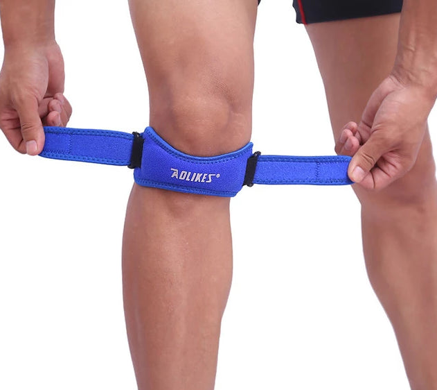 Adjustable Knee Protector Belt Sleeve