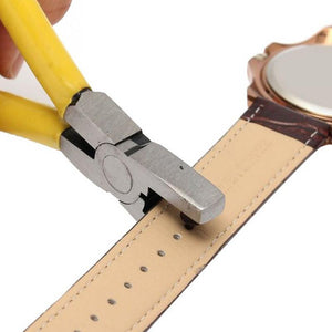 Leather Hole Punch Strap Pliers