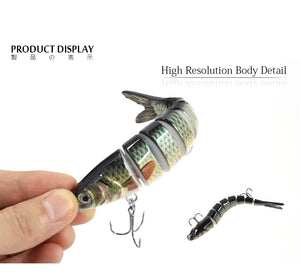 Fishing Bait Multi Jointed Tackle