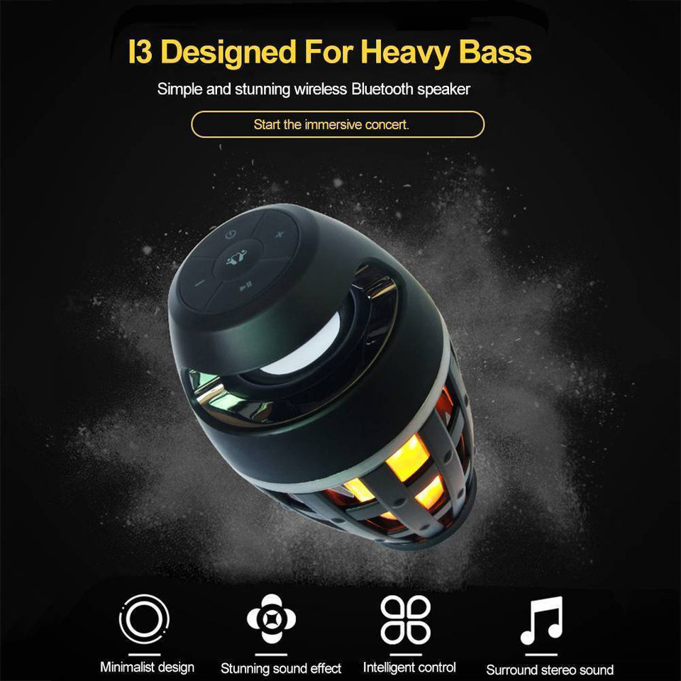 Flame Stereo Bluetooth Speaker