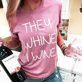 """Mama Loves Wine"" T-Shirt"