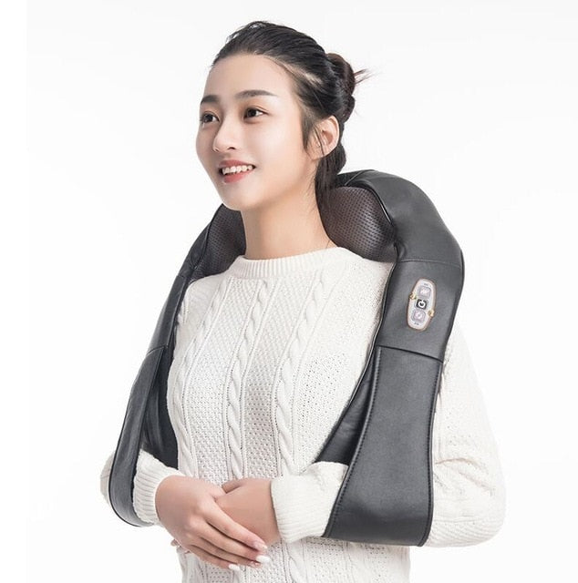 Electronic Deep Heat Infrared Neck Shoulder Back Massager