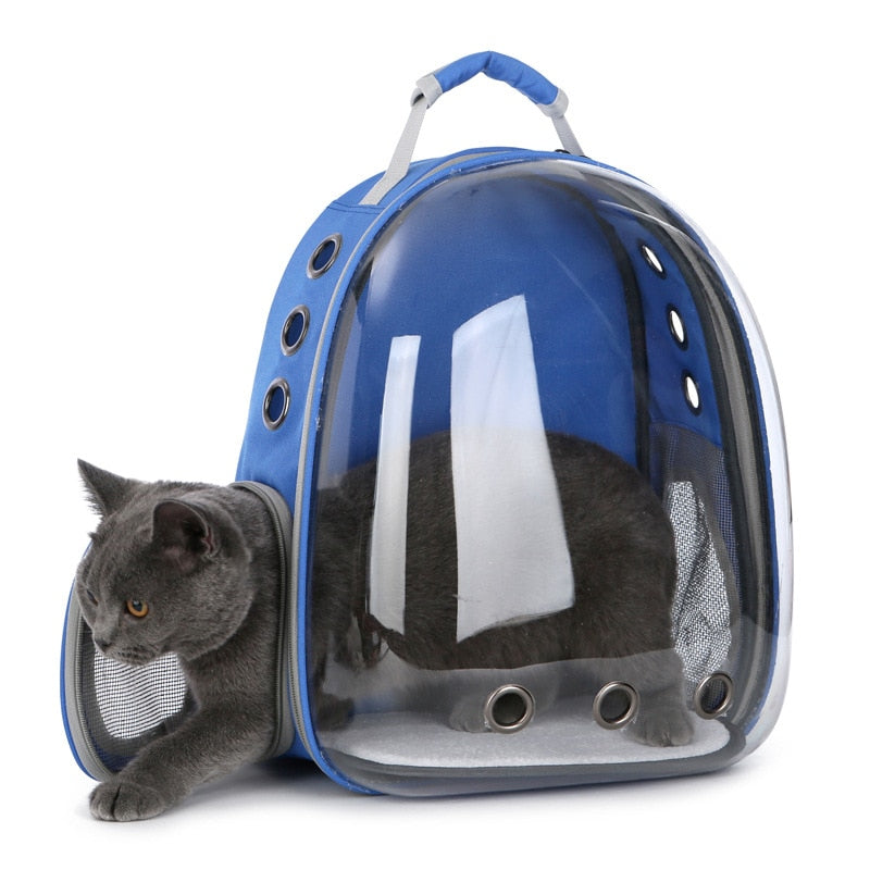 Breathable Pet Capsule Backpack - Carry Cat In Backpack