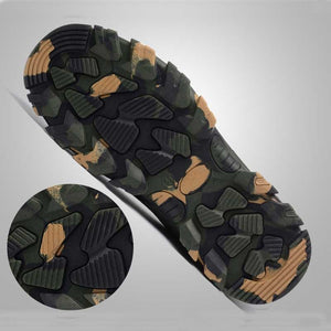 Indestructible Mens Outdoor Steel Toe Cap Shoes - Trainers