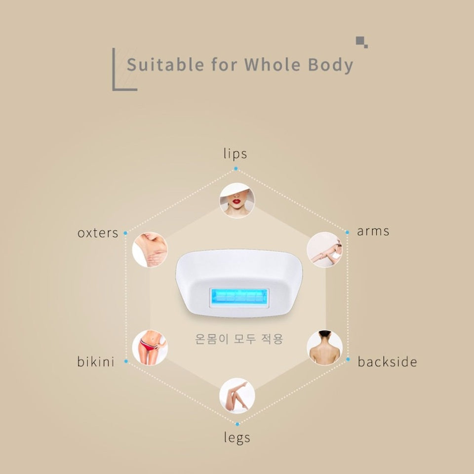 IPL Laser Hair Removal Device Portable Hair Removal
