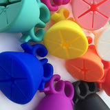 Wearable Nail Polish Holder Silicone Ring