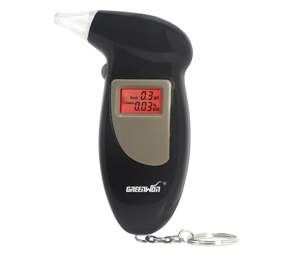 Portable Digital Breathalyser Key Chain Ketone Meter