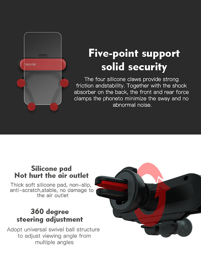 Air Vent Cell Phone Car Mount