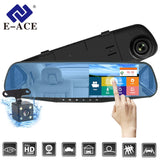 Car Dash Camera 1080P Dual Lens Dash Cam With Rear Camera