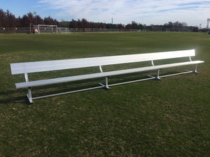PEVO Team Bench with Backrest - 21'