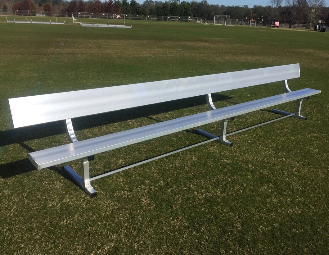 PEVO Team Bench with Backrest - 15'