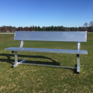 PEVO Team Bench with Backrest - 7.5'