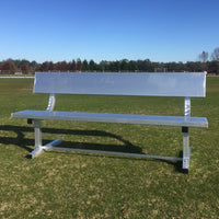 PEVO Team Bench with Backrest - 6'
