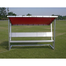 Load image into Gallery viewer, PEVO Covered Bench - 7.5'