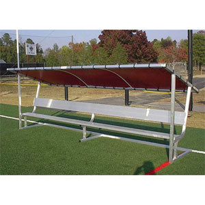 PEVO Covered Bench - 15'