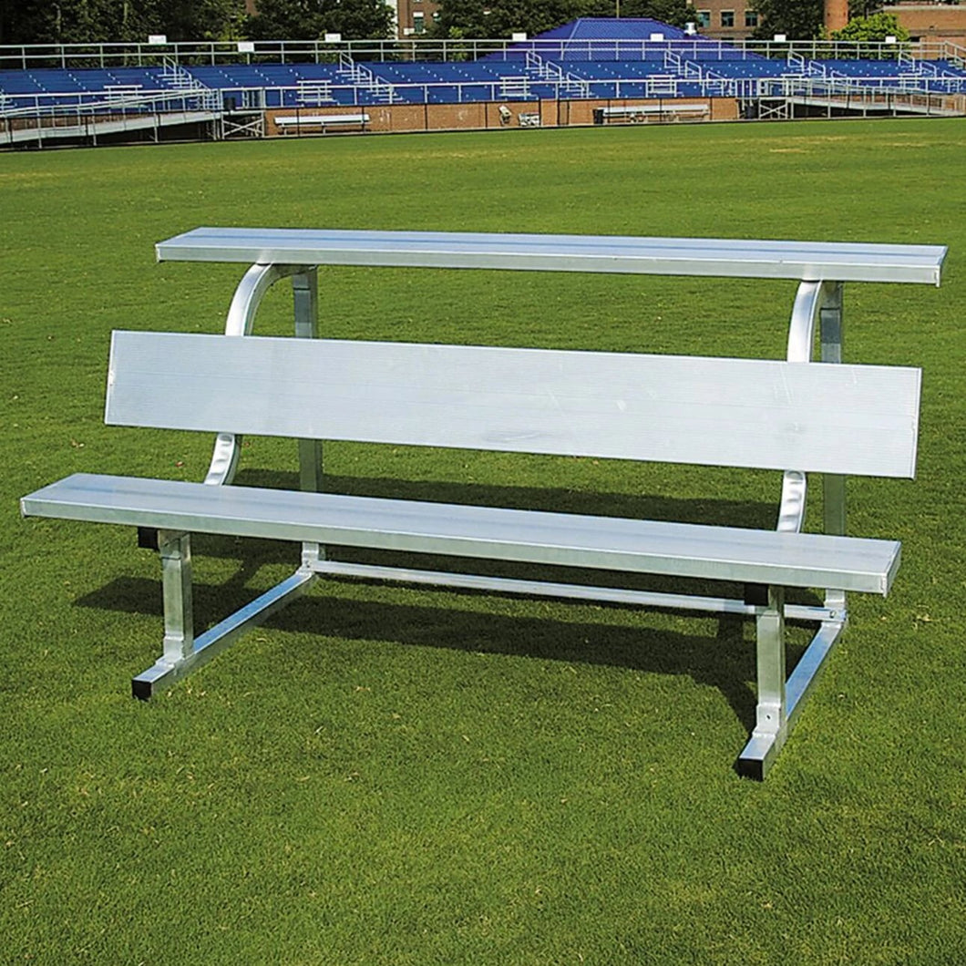 PEVO Team Bench With Top Shelf  - 21'