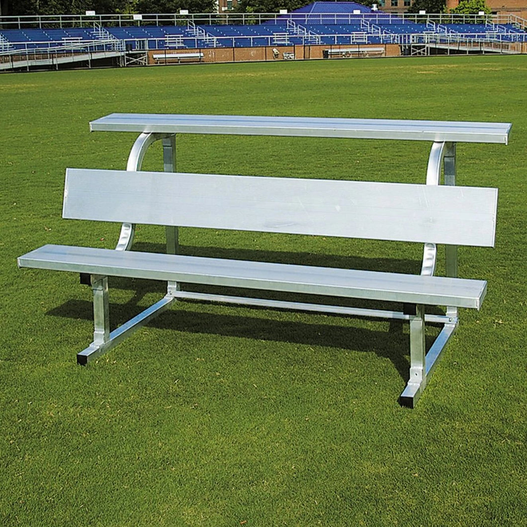 PEVO Team Bench With Top Shelf  - 15'