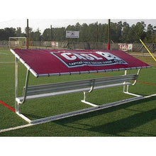Load image into Gallery viewer, PEVO Covered Bench Tarp