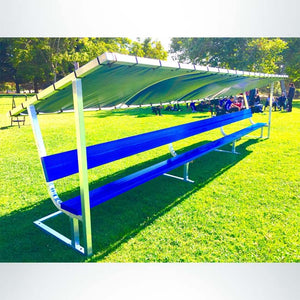 PEVO Covered Bench - 21'