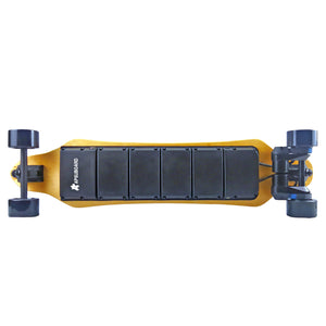 "38""Apsuboard SP Pro Dual Belt Electric Skateboard 