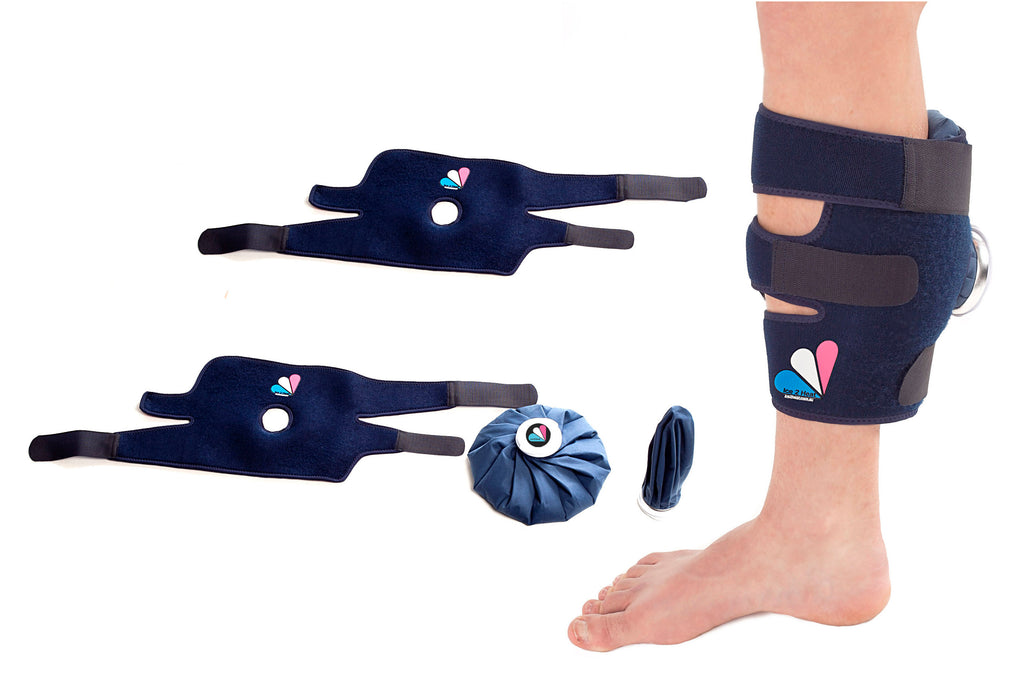 Shin Splints Pack 2X Ice2Heat Medium, Full Body Wraps
