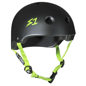 S1 Black Green Helmet