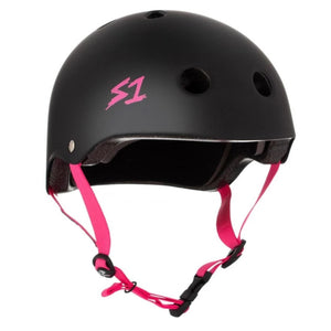 S1 Black Kelly Pink Helmet