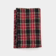 Fog Linen 'Mike' Plaid  Kitchen Cloth