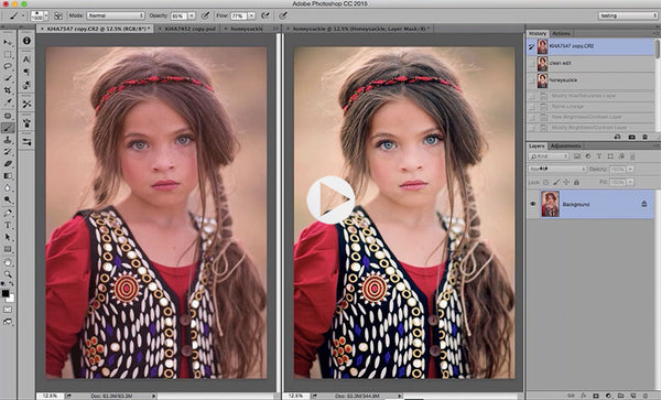 Using Actions in Adobe Photoshop