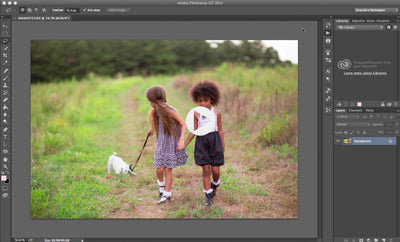 Installing Pretty Photoshop Actions