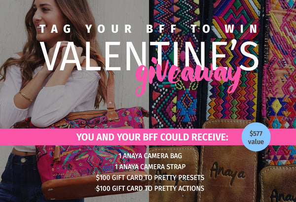 Valentine's Day Giveaway For YOU and Your BFF