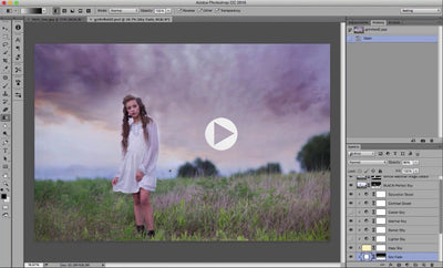 Vivid Skies - Photoshop Cloud And Sky Overlay Webinar