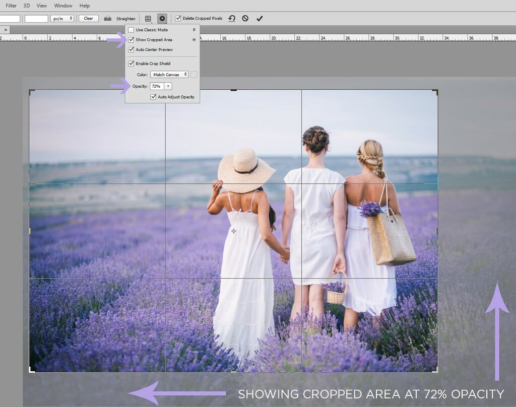 How to Crop in Photoshop