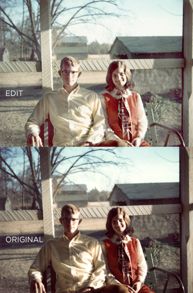 Using Photoshop to restore old photos