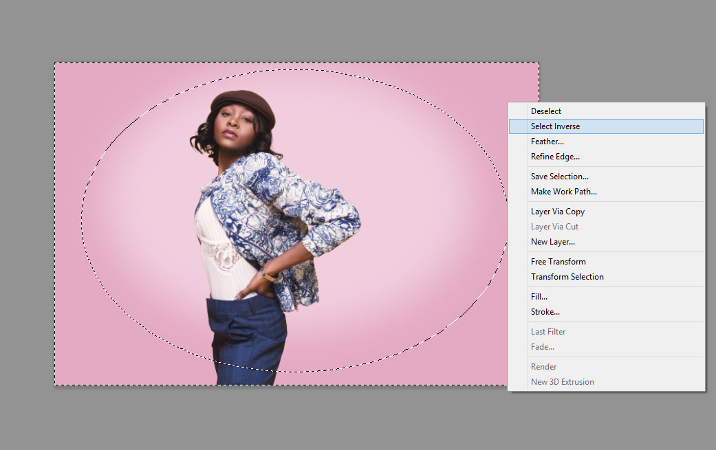 how to change background color on photoshop
