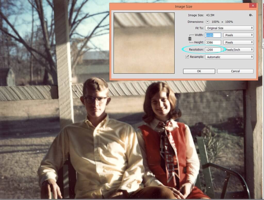 Restoring Old Photos Using Photoshop