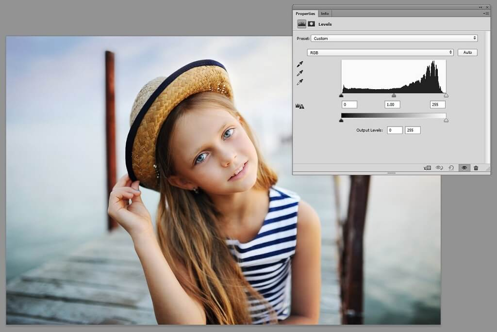 histogram photoshop