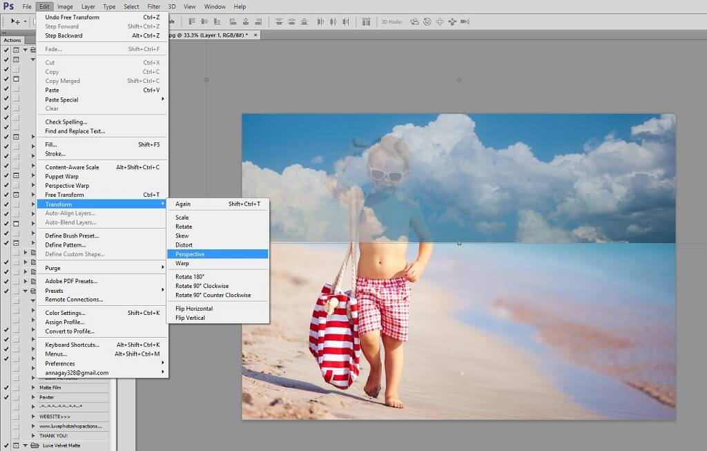 How to use sky overlays in photoshop