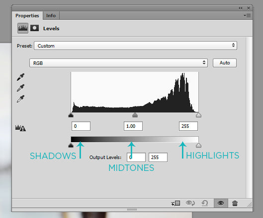 histogram photoshop cs6