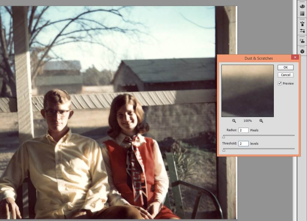 How to Repair Old Pictures in Photoshop